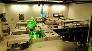 Vue du laser Pilote